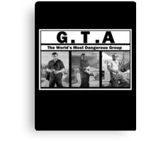 GTA (NWA) Straight Outta Compton Canvas Print