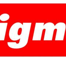 Supreme- Sigma Sticker