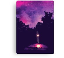 Little lights Canvas Print