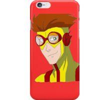 Kid Flash - No background iPhone Case/Skin