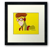Kid Flash - No background Framed Print