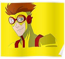 Kid Flash - No background Poster