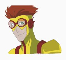 Kid Flash - No background Kids Tee