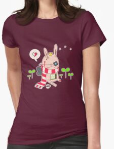 Bunny boy Womens Fitted T-Shirt