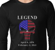 RIP Chris Kyle Memorial, the Legend Long Sleeve T-Shirt