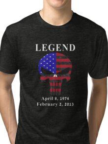 RIP Chris Kyle Memorial, the Legend Tri-blend T-Shirt