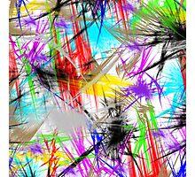 color art Photographic Print