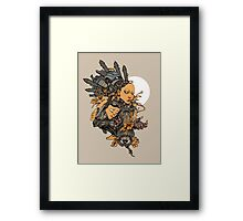 Space Girl Framed Print