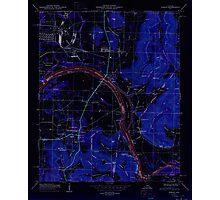 USGS TOPO Map Alabama AL Farley 303817 1950 24000 Inverted Photographic Print