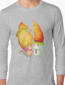 Taiyaki and carrots Long Sleeve T-Shirt