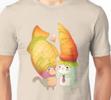 Taiyaki and carrots Unisex T-Shirt