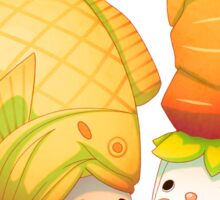 Taiyaki and carrots Sticker