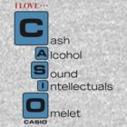 CASH - ALCOHOL - SOUND - INTELLECTUALS - OMELET by FayezButts