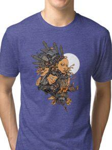 Space Girl Tri-blend T-Shirt