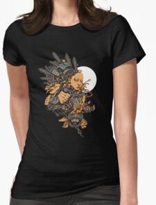 Space Girl Womens Fitted T-Shirt