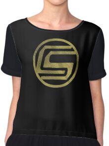 CaptainSparklez | Gold Foil | LIMITED EDITION! | NEW! | HIGH QUALITY! Chiffon Top