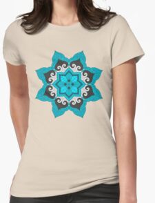 Leaf Dream Womens Fitted T-Shirt