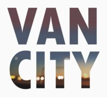 VanCity image within text Baby Tee