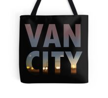VanCity image within text Tote Bag