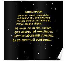 Lorem ipsum Poster