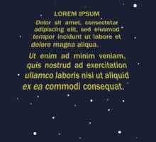 Lorem ipsum One Piece - Short Sleeve