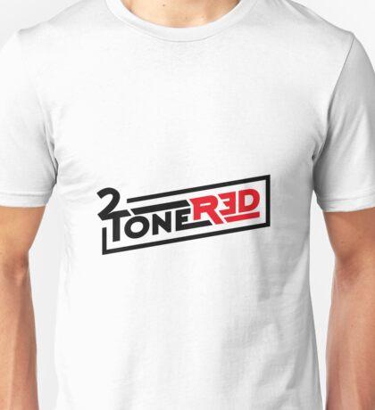2 Tone Red logo Unisex T-Shirt