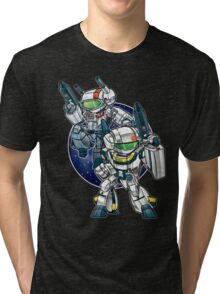 Robotech Skull Tri-blend T-Shirt