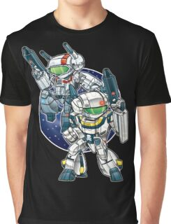 Robotech Skull Graphic T-Shirt