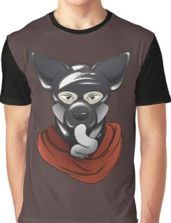Gasmask rubber puppy Graphic T-Shirt
