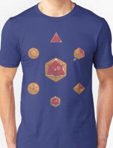 Fruit Dice set, blood orange variant T-Shirt