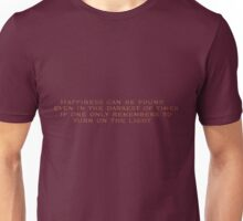 Harry Potter Quotes Unisex T-Shirt