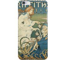 Vintage famous art - Henri Thiriet - Cycles Et Accessoires Griffiths Poster iPhone Case/Skin