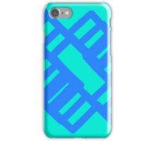 Blue Crosses iPhone Case/Skin