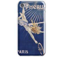 Vintage famous art - Henri Gray - Phebus Paris Poster iPhone Case/Skin