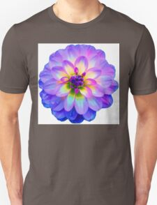 Purple Blooming Flower Unisex T-Shirt