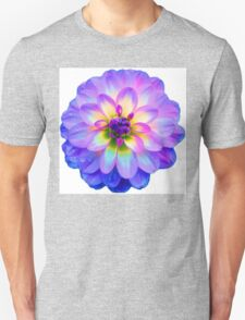 Purple Blooming Flower Unisex T-Shirt