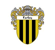 Farley Coat of Arms/Family Crest Photographic Print