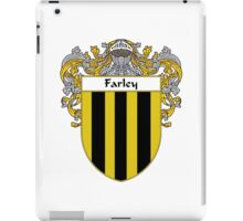Farley Coat of Arms/Family Crest iPad Case/Skin