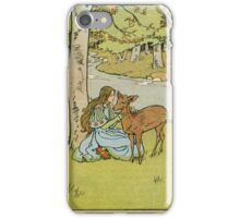 Vintage famous art - Helen Stratton - Hansel And Gretel 1906 iPhone Case/Skin