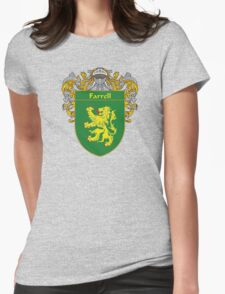 Farrell Coat of Arms/Family Crest Womens Fitted T-Shirt