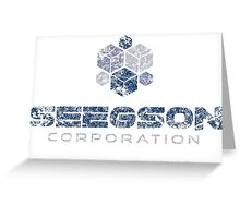 Seegson Corporation Greeting Card