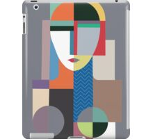 Abstract Lady iPad Case/Skin