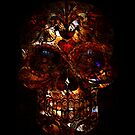 Day of the Dead Death Mask by NaturePrints