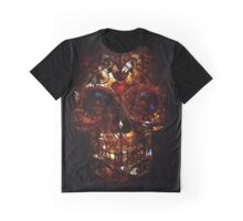 Day of the Dead Death Mask Graphic T-Shirt