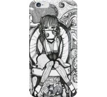 Cafe Doppio Girl iPhone Case/Skin