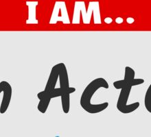 Hello I am an Actor (Akka) Sticker