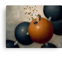 Particle Physics Canvas Print