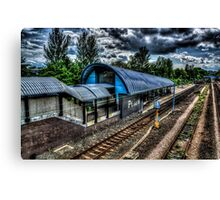 Pelaw Metro Station Canvas Print