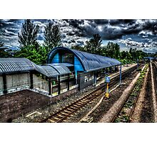 Pelaw Metro Station Photographic Print