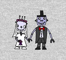 Cool Funky Robot Wedding Unisex T-Shirt